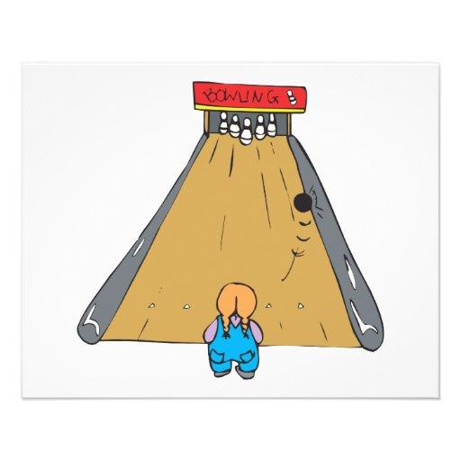 little tot bowling gutter ball flyer