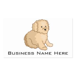 Little Toy Poodle Illustration Pack Of Standard Business Cards