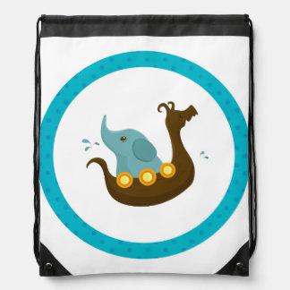 Little Travelers: Elephant Viking backpack