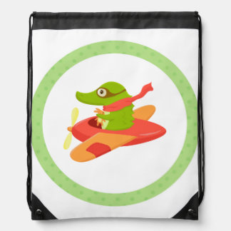 Little Travelers: Flying Crocodile backpack