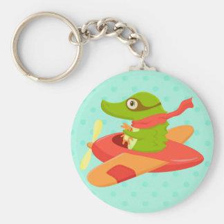 Little Travelers: Flying Crocodile key ring