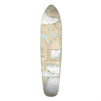 Little Traverse Bay Nautical Skate Deck