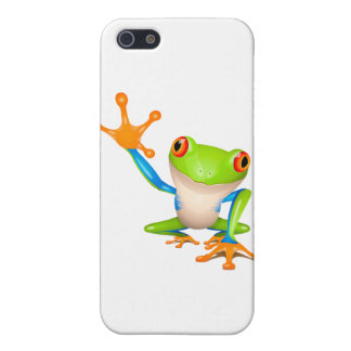 Little tree frog iPhone 5/5S covers