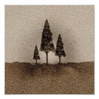 Little Trees Photo Print