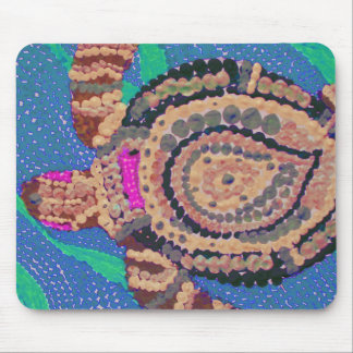 Little Turtle with Many Spots Mouse Pad