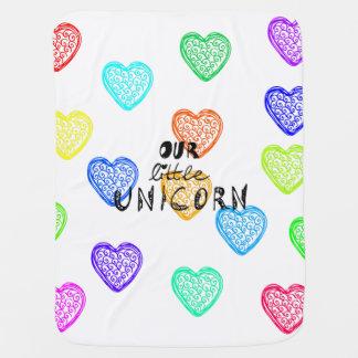 Little Unicorn Baby Blanket