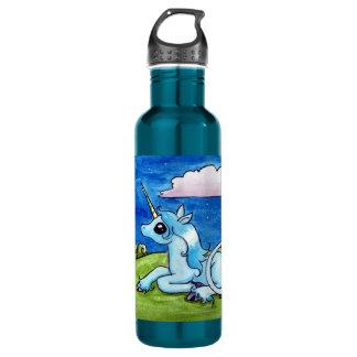Little Unicorn Wishing on stars 710 Ml Water Bottle