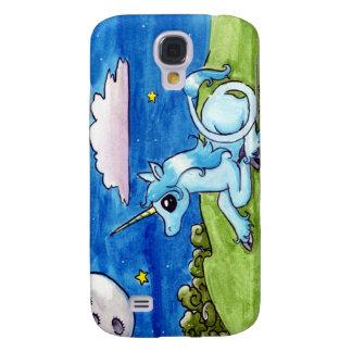 Little Unicorn Wishing on stars Galaxy S4 Case