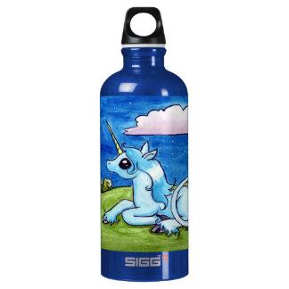 Little Unicorn Wishing on stars Water Bottle
