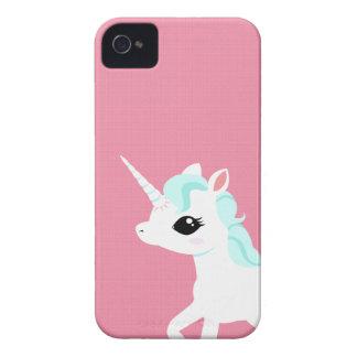Little Unicorn with blue mane Blackberry case