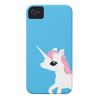 Little Unicorn with Pink mane Blackberry case