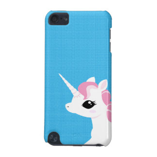 Little Unicorn with Pink mane Ipod touch case