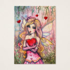 Little Valentine Fairy Valentine's Mini Cards