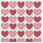 Little Valentine hearts fabric