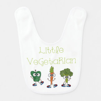 Little Vegetarian Baby Bibs