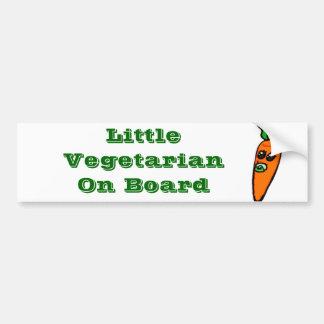 Little Veggie Bumper Sticker Car Bumper Sticker