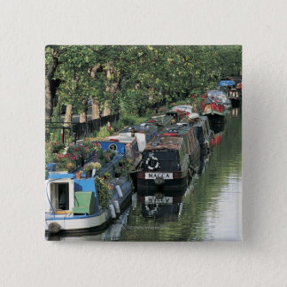 Little Venice in London, England 15 Cm Square Badge