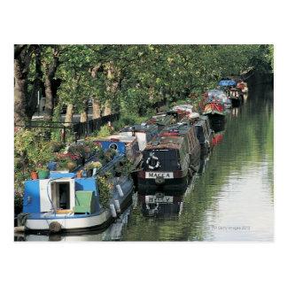 Little Venice in London England Postcard