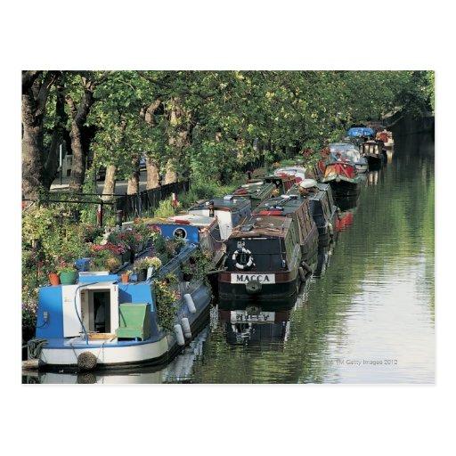 Little Venice in London, England Postcard