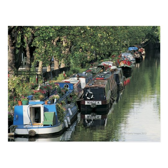 Little Venice in London, England Postcard