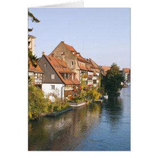 Little Venice (Klein Venedig) and River Regnitz Card