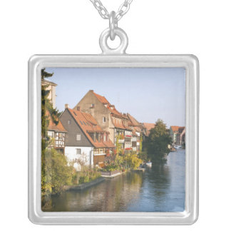 Little Venice (Klein Venedig) and River Regnitz Silver Plated Necklace