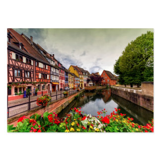 Little Venice, petite Venise, in Colmar, France Pack Of Chubby Business Cards