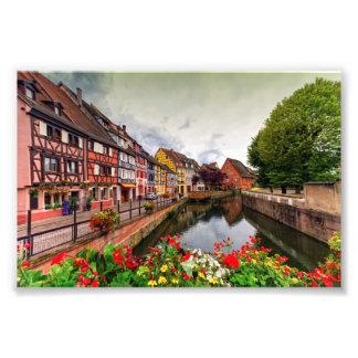 Little Venice, petite Venise, in Colmar, France Photograph