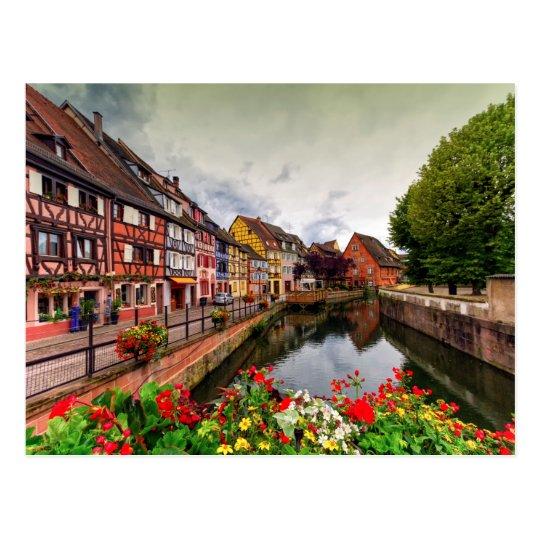 Little Venice, petite Venise, in Colmar, France Postcard