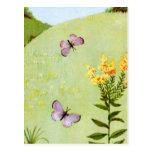 Little Vintage Butterflies Postcard