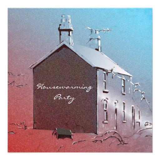 Little Welsh House Housewarming Invitations