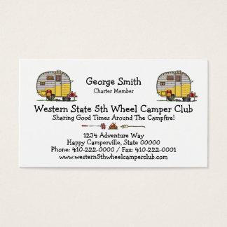 Little Western Camper Trailer M Business Card
