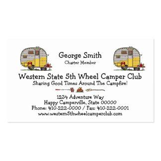 Little Western Camper Trailer M Pack Of Standard Business Cards
