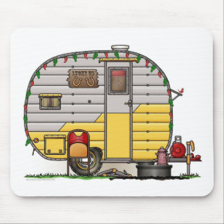 Little Western Camper Trailer Mouse Mat