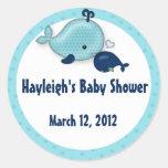 Little Whale Baby Mummy Kiss Sticker