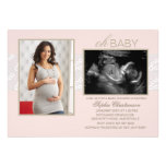 Little Whispers Pink Personalised Invite