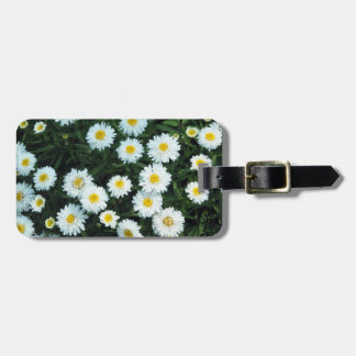 Little White Daisies Luggage Tag