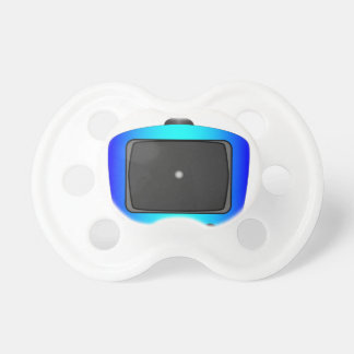 Little White Dot TV Pacifiers