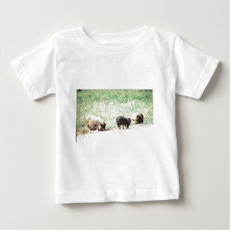 Little Wild Pigs Sketch Baby T-Shirt
