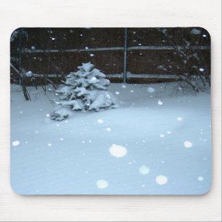Little winter tree mousepad