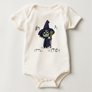 Little Witch Baby Grow Baby Bodysuit