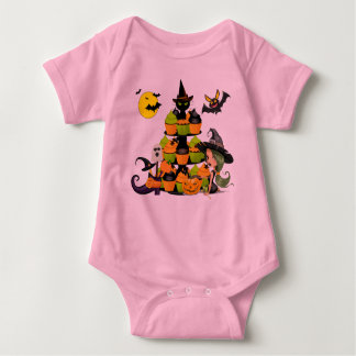Little Witch Baby Jersey Bodysuit