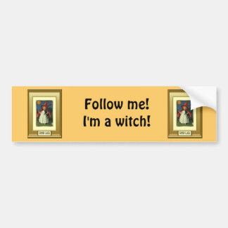 Little witch Halloween gift Bumper Stickers