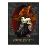Little Witch Halloween Party X-Large Invitation