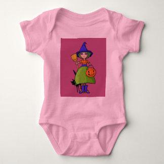 Little Witch plum Infant T-shirt