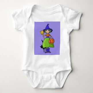 Little Witch purple Infant T-shirt