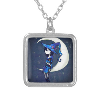 Little Witch Silver Plated Necklace