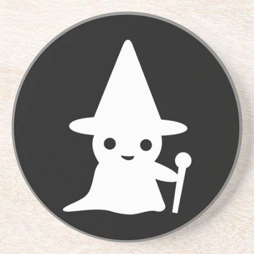 Little Wizard Drink Coaster