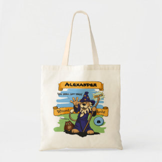 Little Wizard Canvas Bag