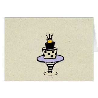 little wobblies hapy birthday note card